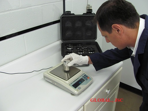 GLOBAL.,JSC cung cấp dịch vụ hiệu chuẩn - Kiểm định cân chuyên nghiệp