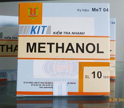 Test Met 04 kiểm tra nhanh Metanol trong rượu