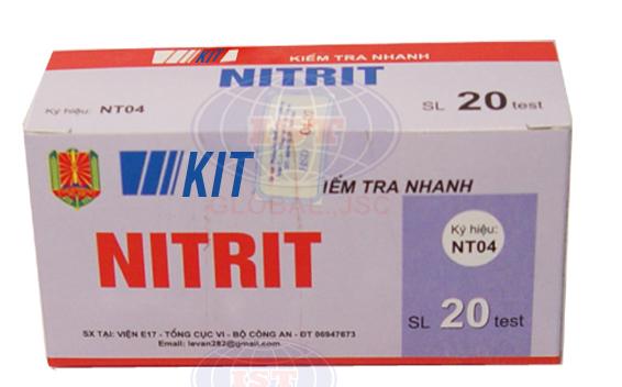 Test NT 04 kiểm tra nhanh nitrit trong thực phẩm