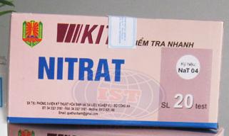 Test Nat 04 kiểm tra nhanh nitrat trong thực phẩm