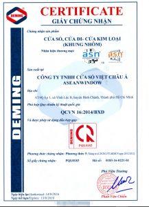 Xin giấy chứng nhận hợp chuẩn hàng hóa