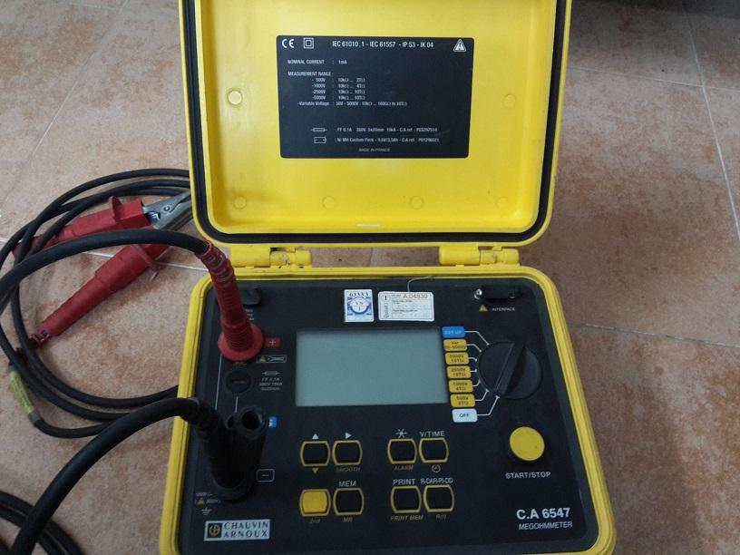 Hướng dẫn đo điện trở cách điện