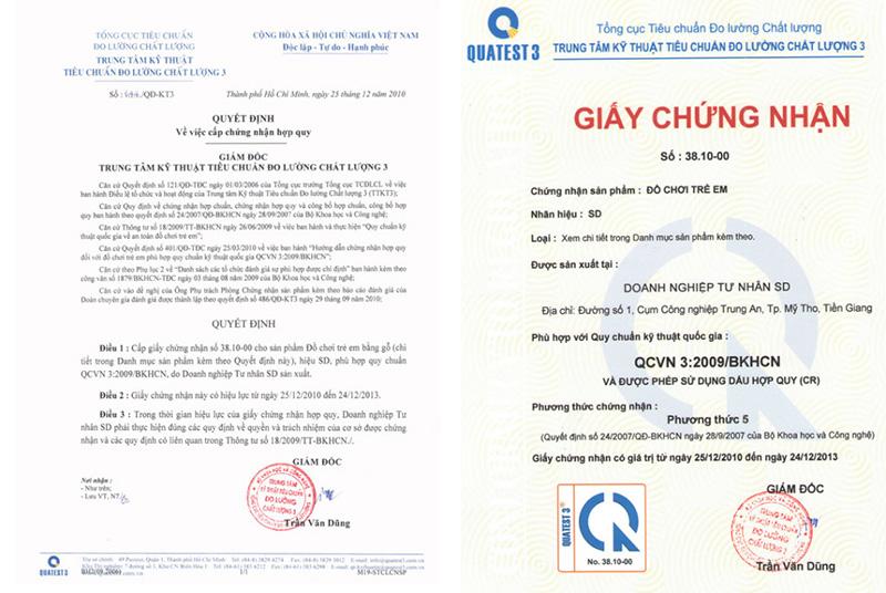 Xin giấy chứng nhận hợp quy hàng hóa