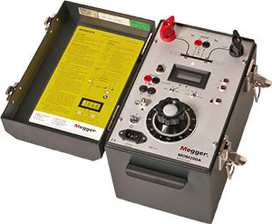 Quy trình thí nghiệm đo điện trở tiếp xúc
